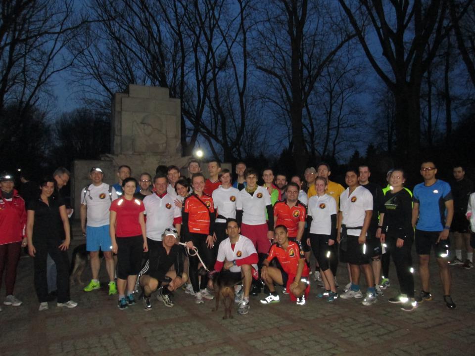WITC at Park Skaryszewski for the Run for Boston