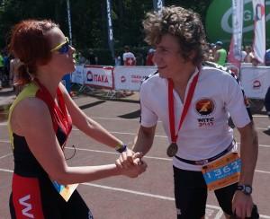 Congratulations on a great race Maciej!